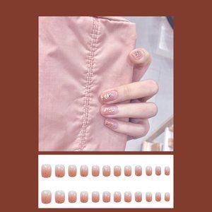 Press-on nails glue-on nails artificial nails fake
